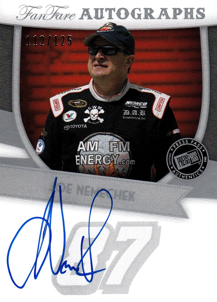 Cardboard History Birthday Cards Of course I got cards for my – Nascar Birthday Cards