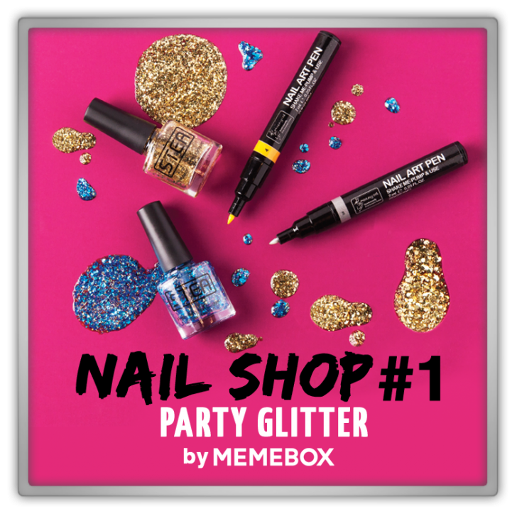 Memebox Nail Shop #1 Party Glitters 미미박스 Commercial