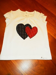Camiseta corazones