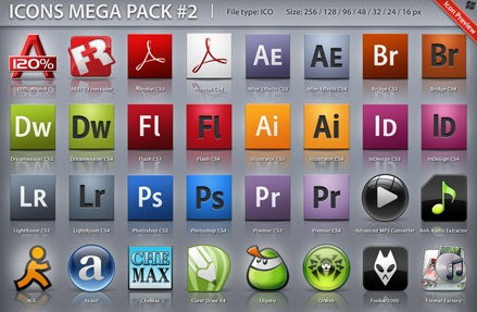 icons mega pack+1 Icons Mega Pack No2