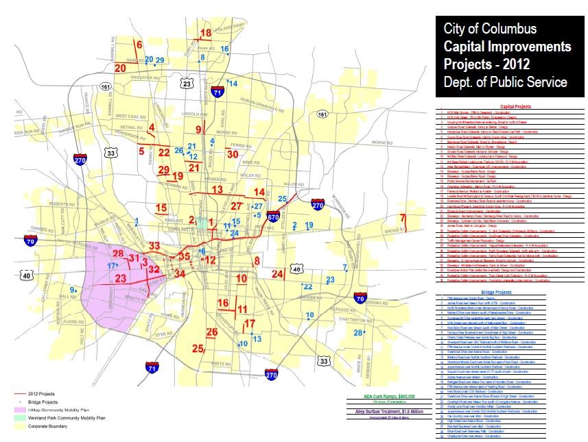 Biking columbus columbus has street and bike plans for Columbus capitale