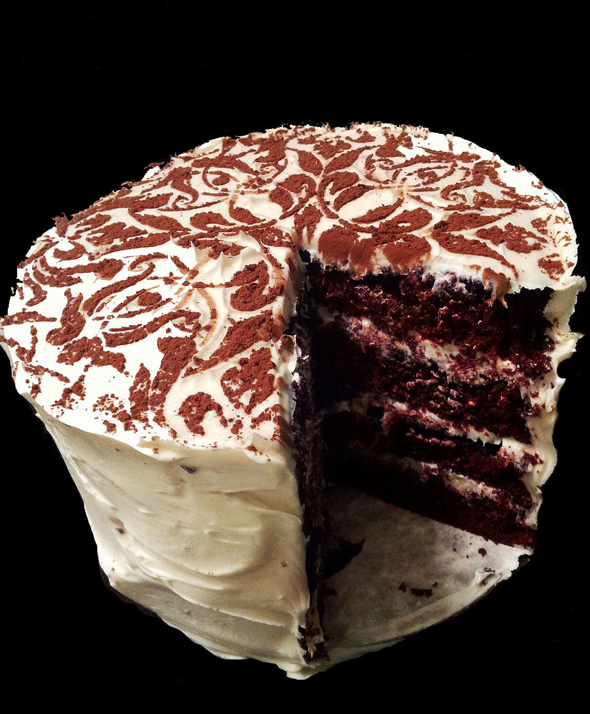 Red velvet cake is a traditional Southern buttermilk cake with cocoa ...