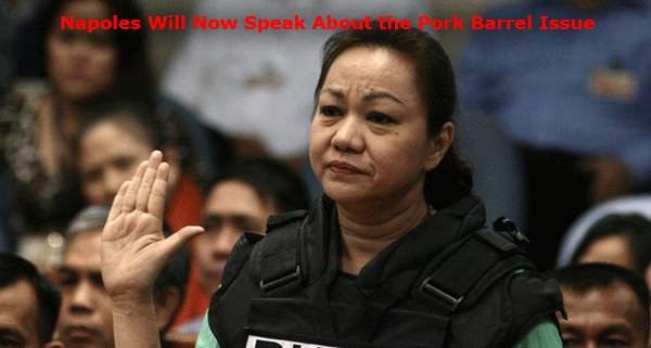 Napoles Will Now Speak About the Pork Barrel Issue