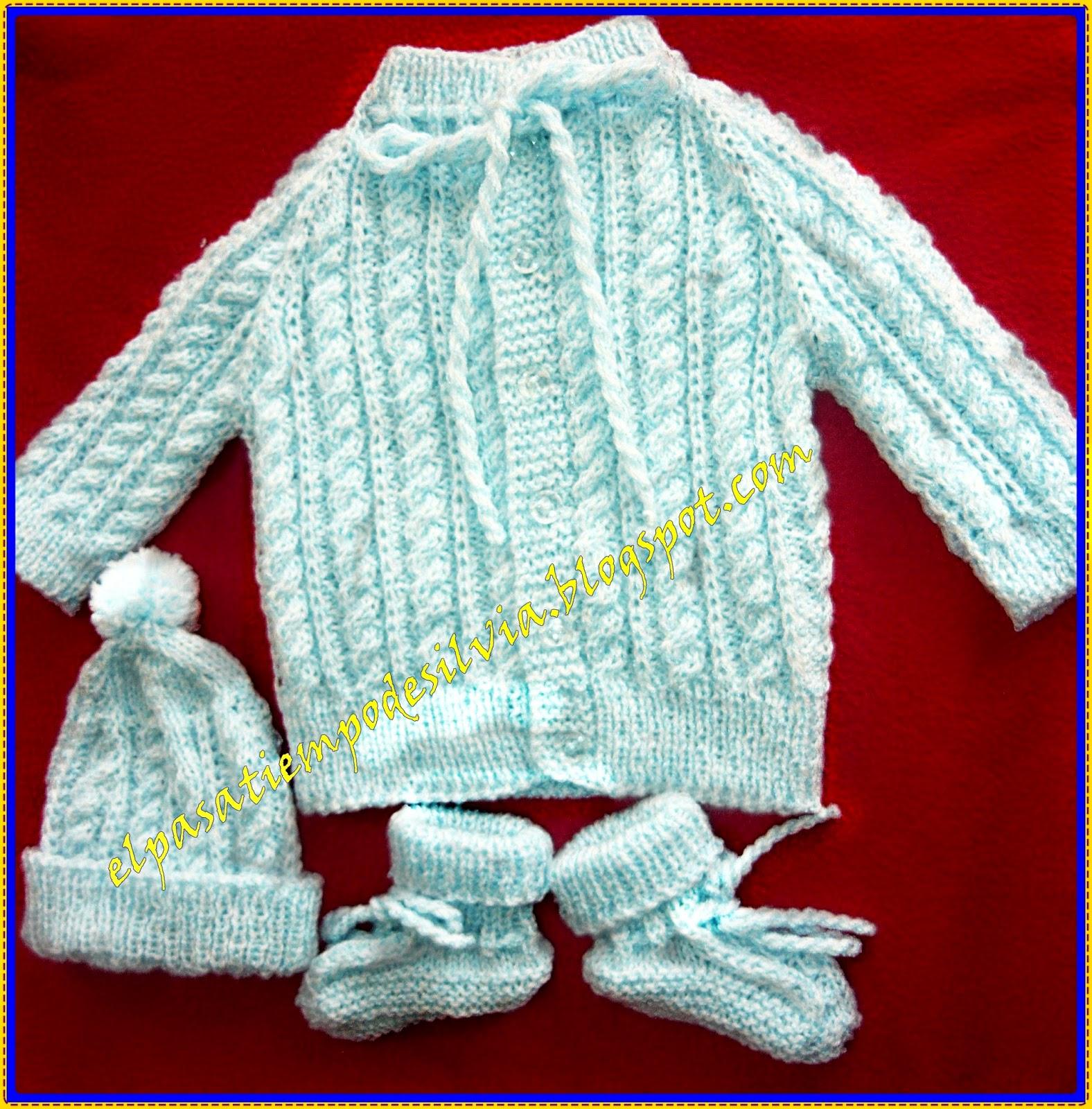 EL PASATIEMPO DE SILVIA: Ropa de bebé