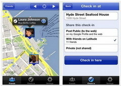 Updates for Google's iPhone apps: Check in with Latitude and use Places in 30 languages