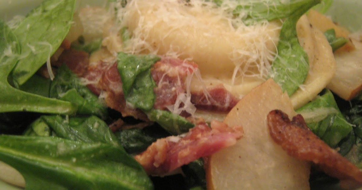 Rindy Mae: Ravioli With Apples, Bacon, & Spinach + The Latest Menu