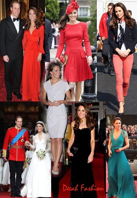 Busana Terbaik Kate Middleton Calon Ratu Inggris