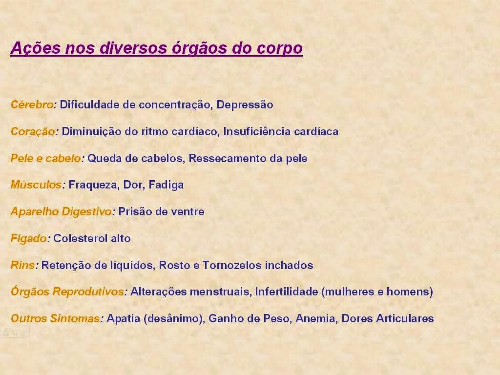 Exame hipotireoidismo