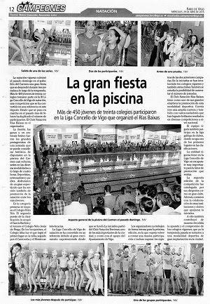 Ampa ni o jes s de praga mayo 2015 for Piscina del carmen vigo