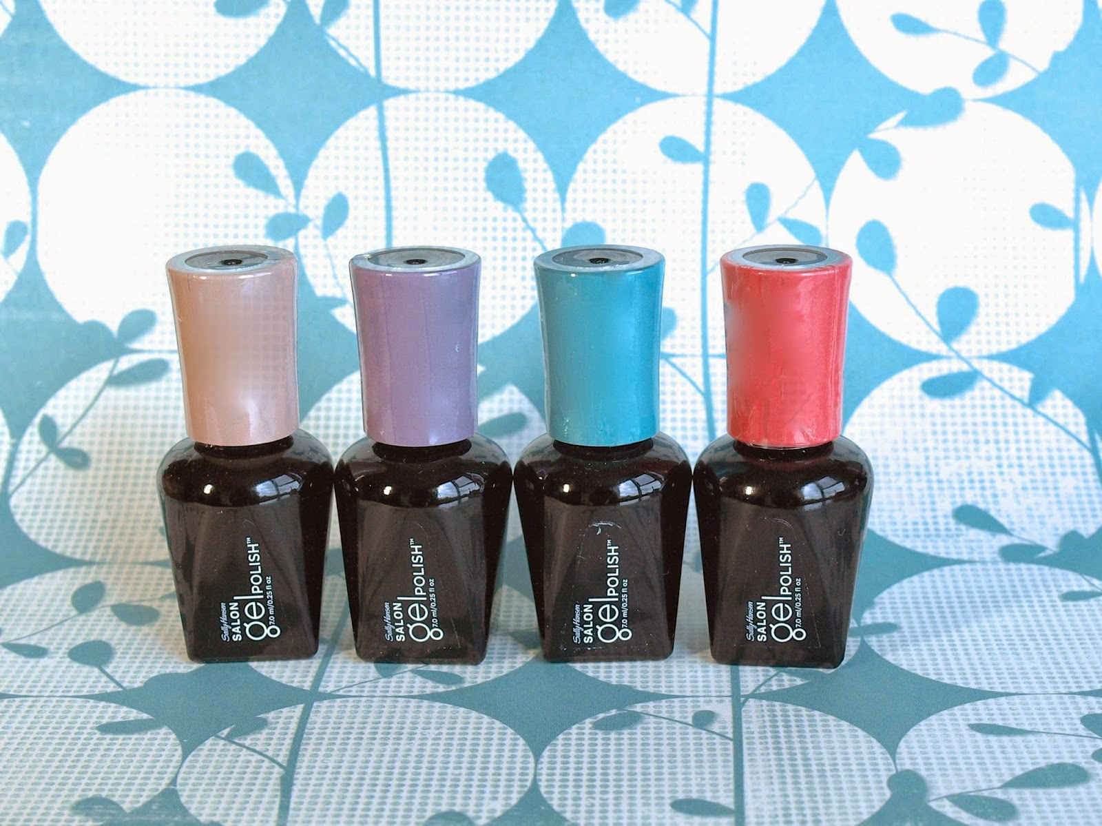 Sally Hansen Salon Gel Polish Collection for Mother's Day Swatches and Review