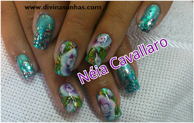 10 FOTOS DE UNHAS DECORADAS COM NEIA CAVALLARO2