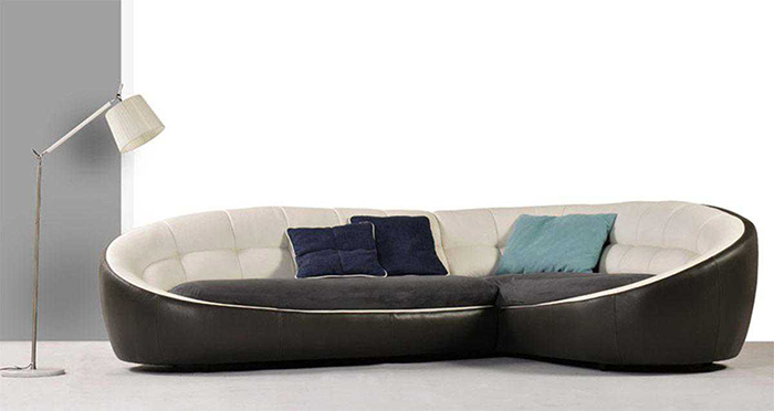 Store Of Modern Furniture In Nyc Blog Egg Shaped Sectional Sofa