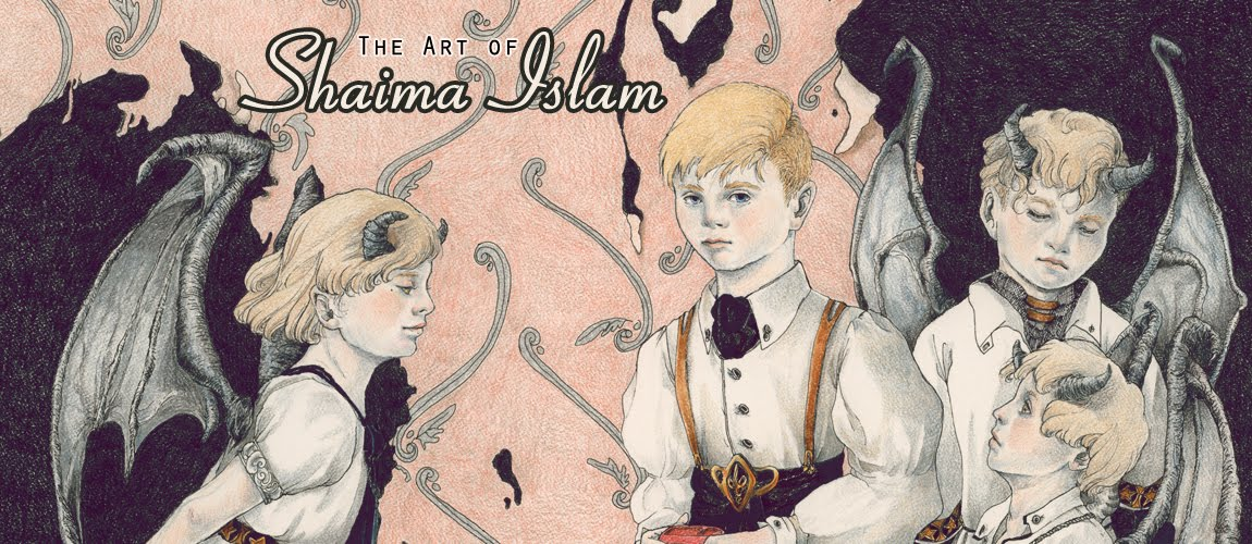 THE ART OF SHAIMA ISLAM