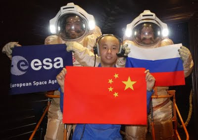 Europe, China, Russia in the Mars500