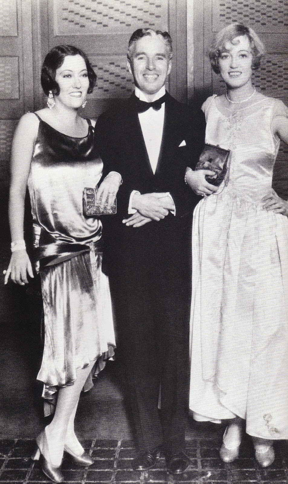 Marion Davies and Charlie Chaplin