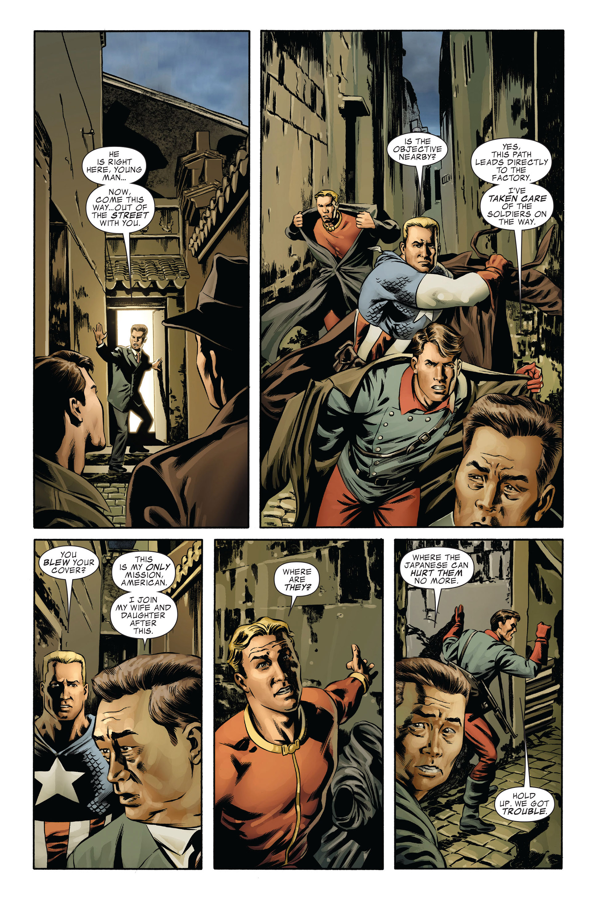 Captain America (2005) Issue #43 #43 - English 4