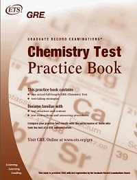 GRE - Chemistry Test Practice Book - ETS