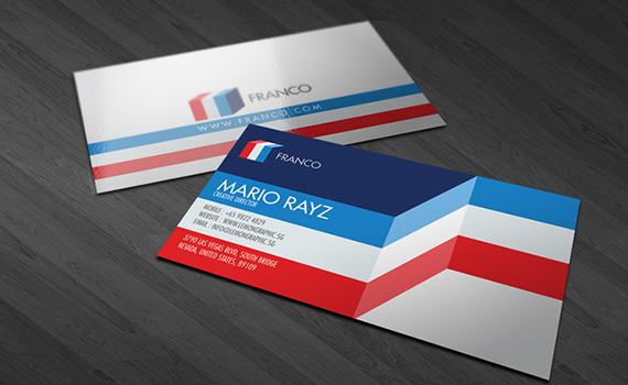 Franco Business Card Design