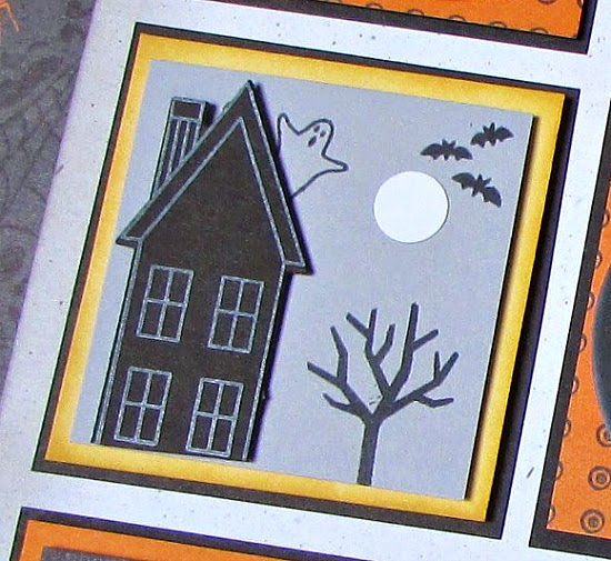Spooky House - Stampin' Up! Holiday Home stamp set + matching framelit dies