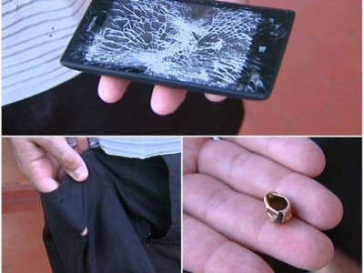 Nokia Lumia 520, Selamatkan Polisi dari Peluru Perampok