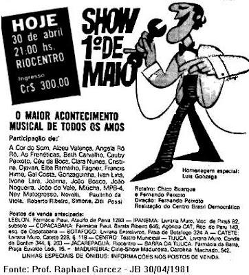 showriocentro 1981