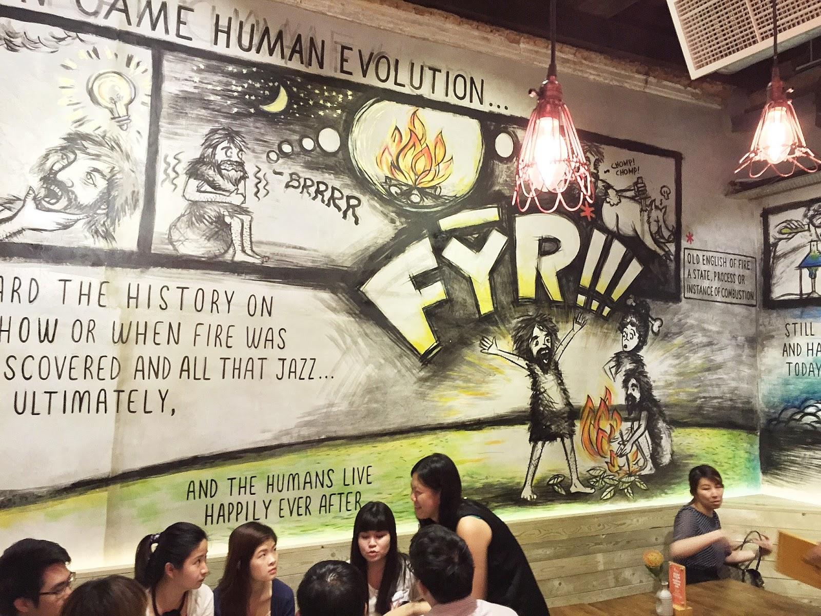 FYR Cycene Ond Drinc (Boon Tat Street) Wall Murals