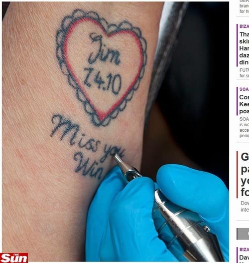 Fazer tatuagens não tem limite de idade: Britânica faz sua primeira tatuagem aos 92 anos