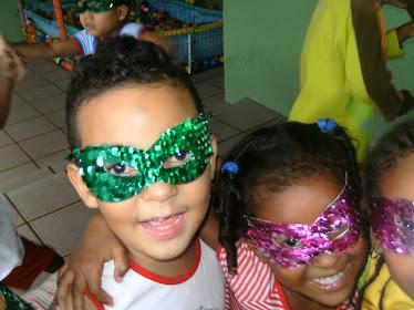 É Carnaval é alegria...