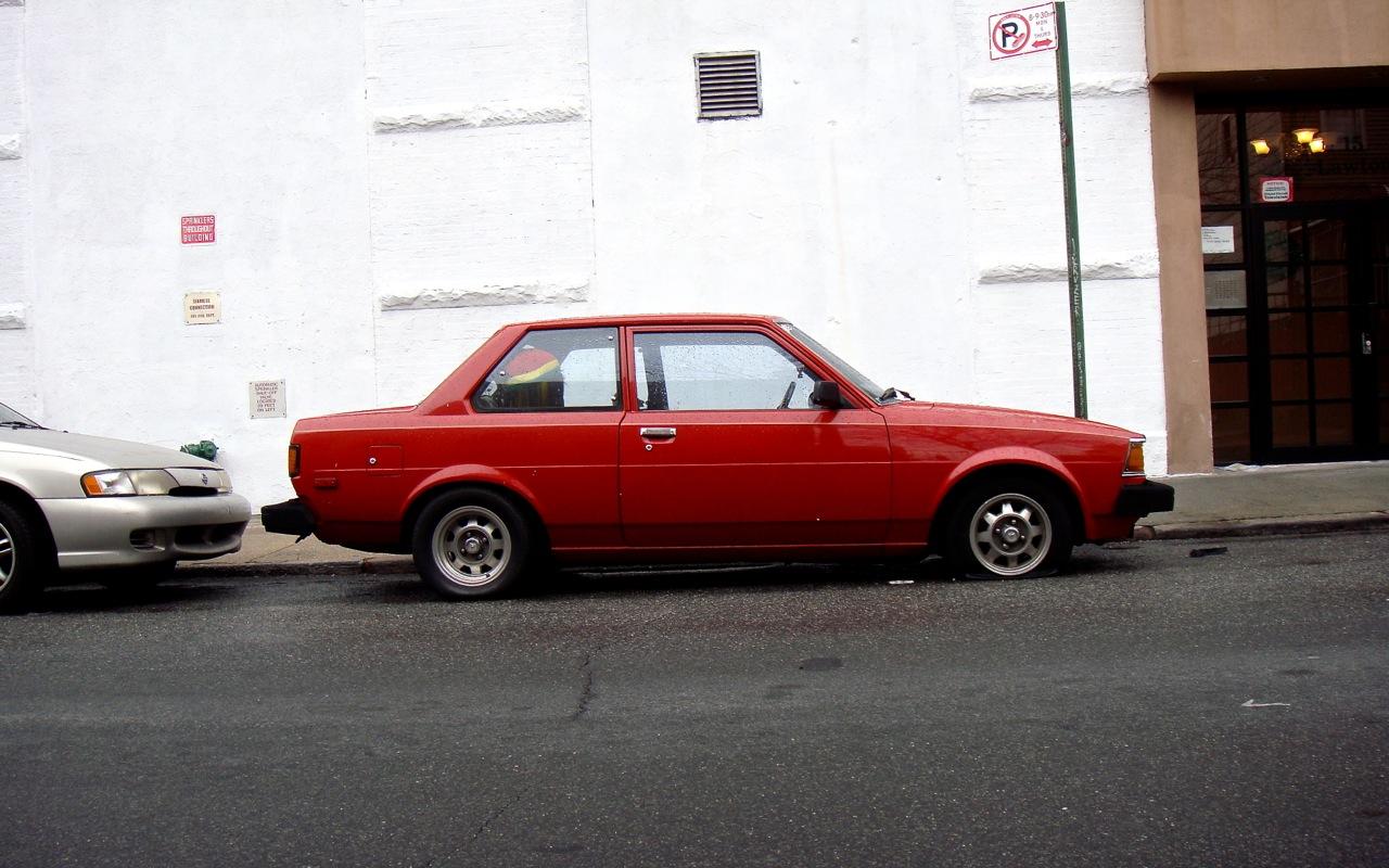 1982 Toyota Corolla 2 Door (Rotary) & THE STREET PEEP: 1982 Toyota Corolla 2 Door (Rotary) pezcame.com