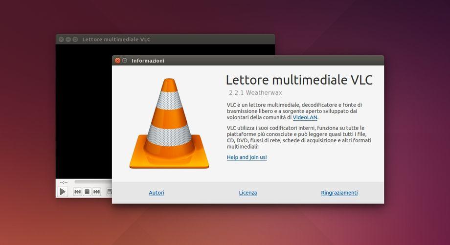 VLC 2.2.1 in Ubuntu