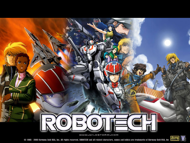 Robotech Serie Completa DVDRip Espaol Latino