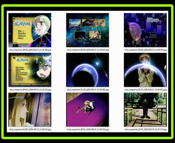 Escaflowne: Serie Completa (1996-2000) [5 DVD9] 33,5 GB