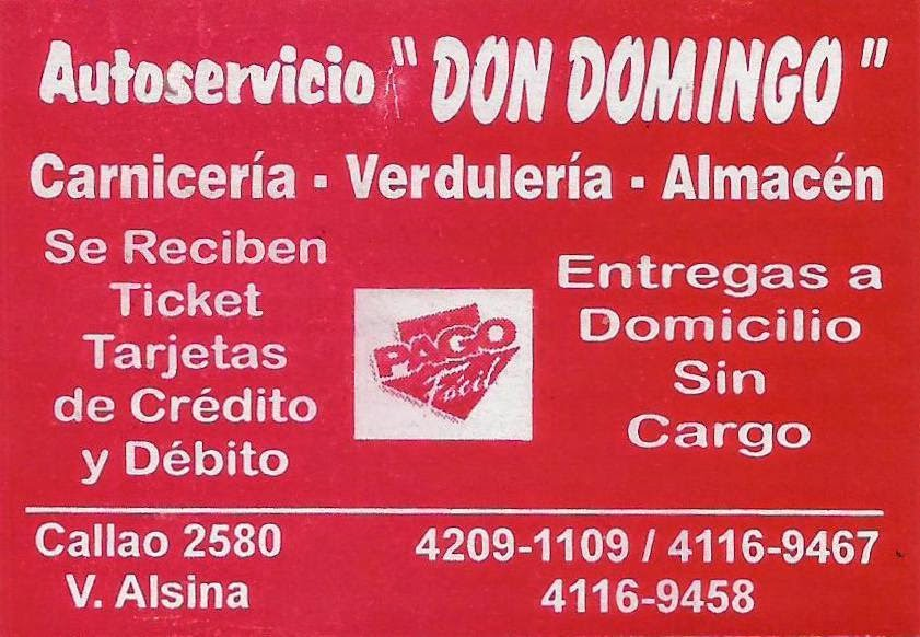 Autoservicio DON DOMINGO