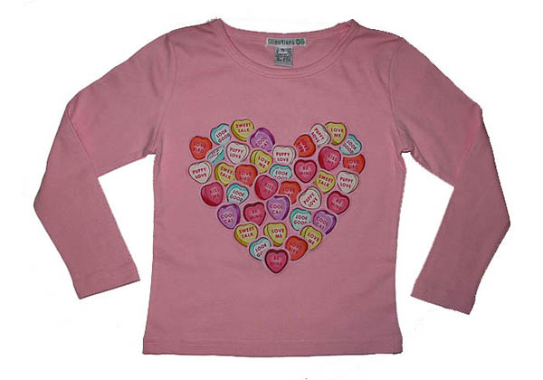 Kids T Shirts Rock The Blog Happy Valentines Day From
