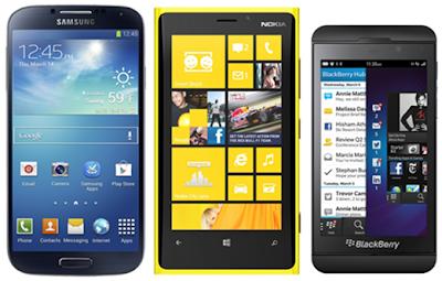 ကဲေနာက္ထပ္ အေကာင္းဆံုး ေနာက္ဆံုးေပၚ နာမည္ႀကီး ဖုန္း(၃)မ်ိဳးႏႈိင္းယွဥ္ ၾကည့္မယ္ (Galaxy S4 vs Lumia 920 vs BlackBerry Z10)
