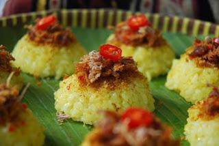 Resep Masakan Ketan Kuning Serundeng
