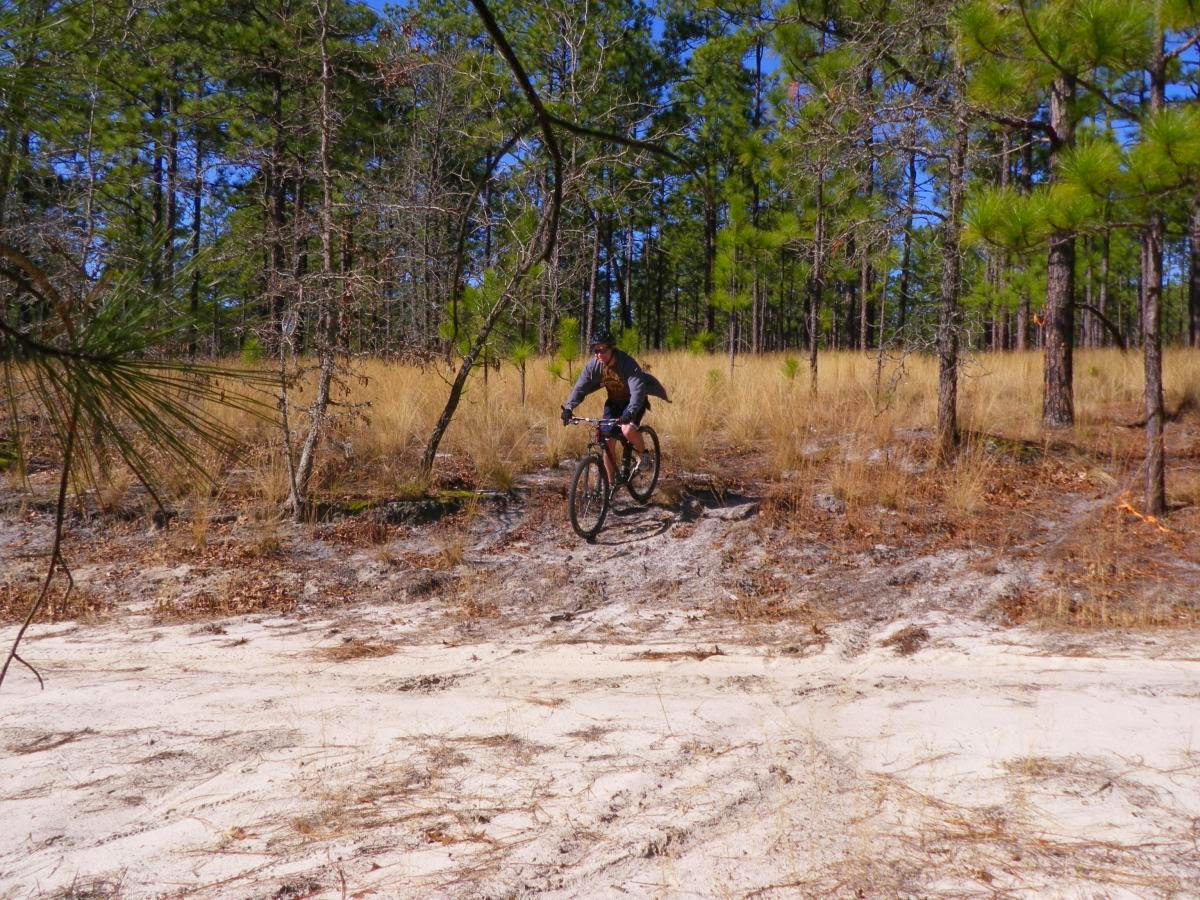 Jarrett looking epic on his mountain bike