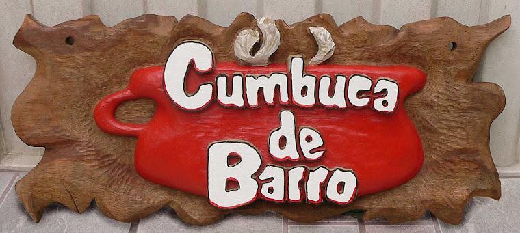 Placa entalhada para restaurante - Cumbuca de Barro