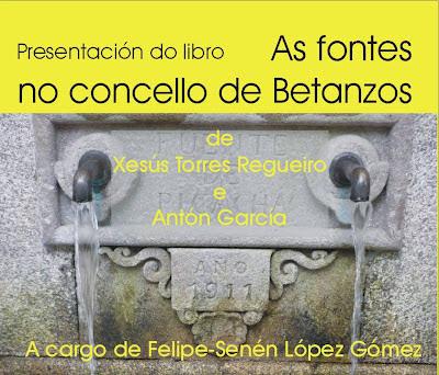 As fontes no concello de Betanzos