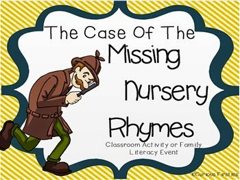 http://www.teacherspayteachers.com/Product/The-Case-of-the-Missing-Nursery-Rhymes-749396