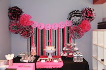 Hot Pink and Zebra Print Party Ideas