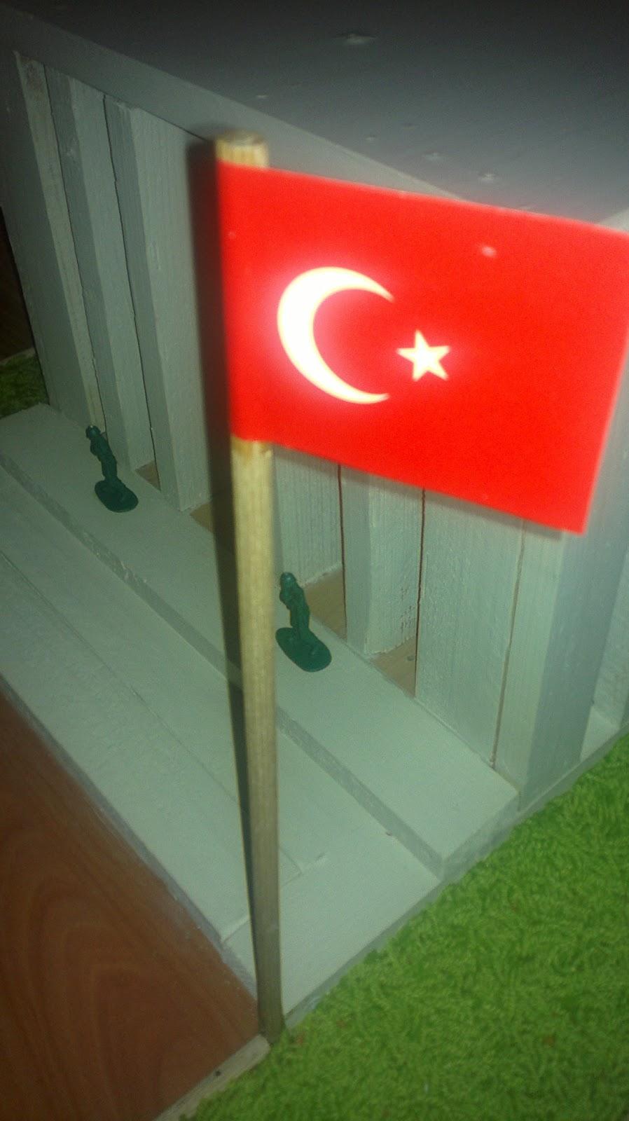 türk bayrağı, anıtkabir