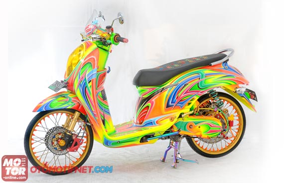 Kumpulan Modifikasi Motor Matic Honda Scoopy
