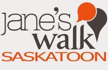 Jane's Walk Saskatoon