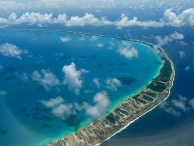 Arenas rosadas en Tikehau - Polinesia Francesa