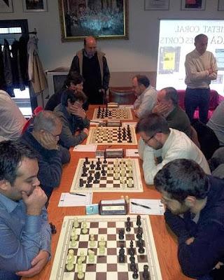 Encuentro de ajedrez l'Espiga de les Corts - Foment Martinenc (3)