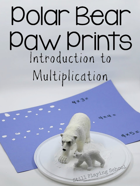 A fun, hands on way to introduce multiplication with polar bears!