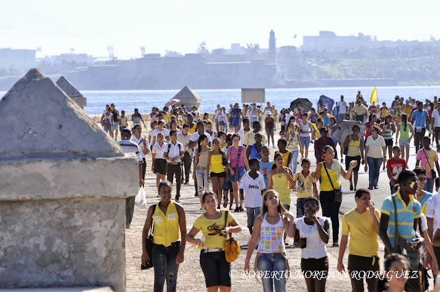 Cuba maraton por Los Cinco