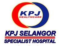 Jawatan Kosong di KPJ Selangor Specialist Hospital - 19 Jun 2015