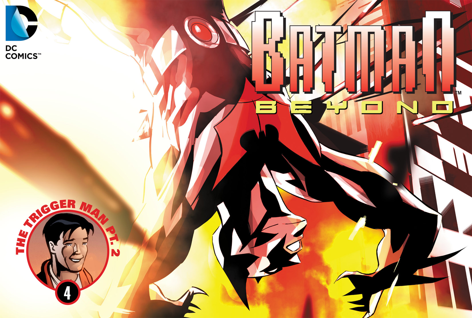 Batman Beyond (2012) Issue #4 #4 - English 1